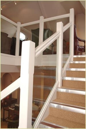 18+ [ Staircase Newel Post ] | Glass Balustrade Staircase Gallery ...