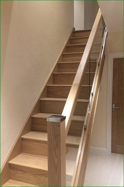 Case Study Moreton In Marsh Glass Staircase
