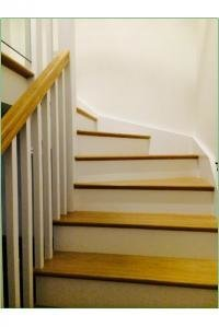Case Study Wenlock White Primed Staircase