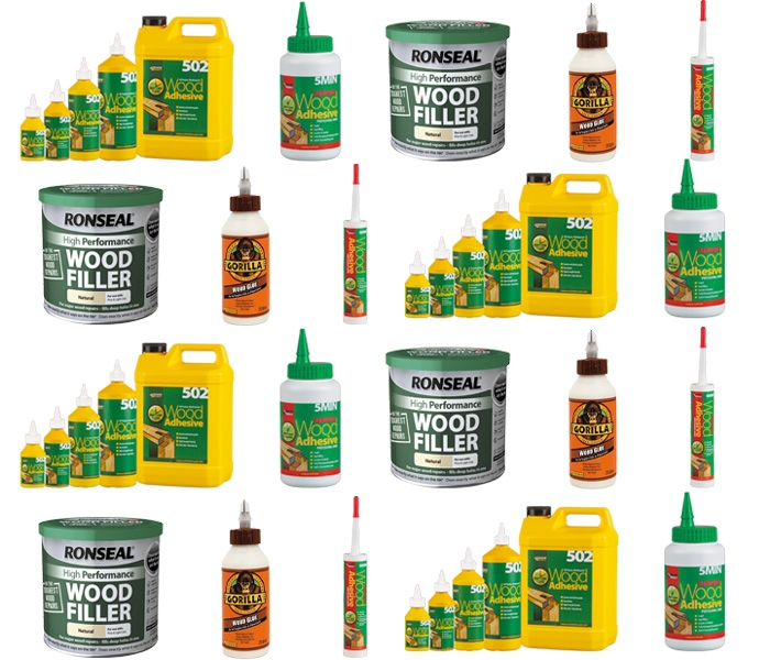 Glues Adhesives & Wood Fillers