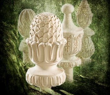 Handcarved Finials
