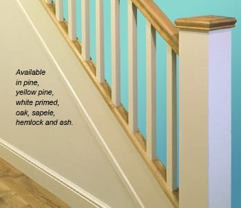 Softwood & Hardwood Staircase Components