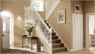 White Primed Stair Parts.