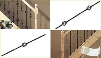 Metal Spindles for your Stairs & Staircases.