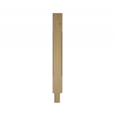 Richard Burbidge WOSCNT160 Stop Chamfer Newel - White Oak