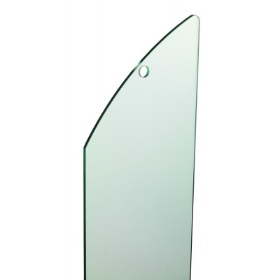 Richard Burbidge MMGPR1 Fusion Glass Panel - Stairs (single) RAKE