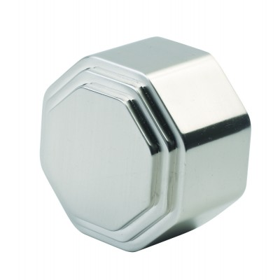 Richard Burbidge RHR05C Handrail End Cap - Octagonal Chrome 54mm