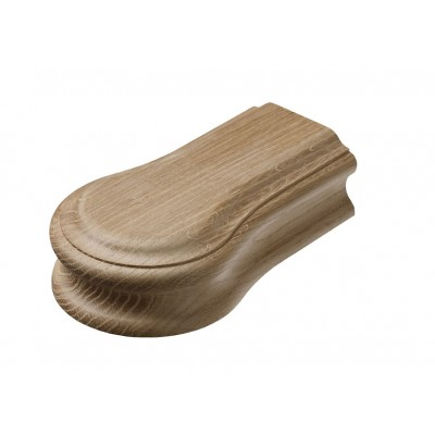 Richard Burbidge WOHCOC Heritage Handrail Opening Cap - White Oak