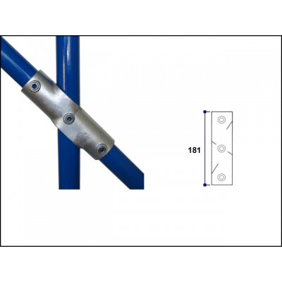 Interclamp 130-B34 - Adjustable Cross (Middle Rail) (30 - 45 degree)