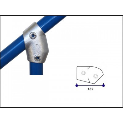 Interclamp 129-B34 - Adjustable Short Tee