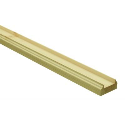 Richard Burbidge BR2400/32PS Trademark Pine Baserail for 2400/32mm