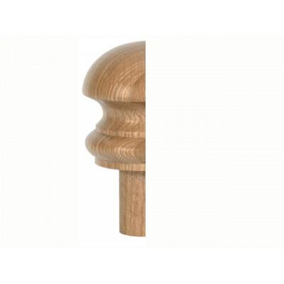 Staircase Half Newel Cap - Mushroom Cap - Fernhill Range 60 x 120mm