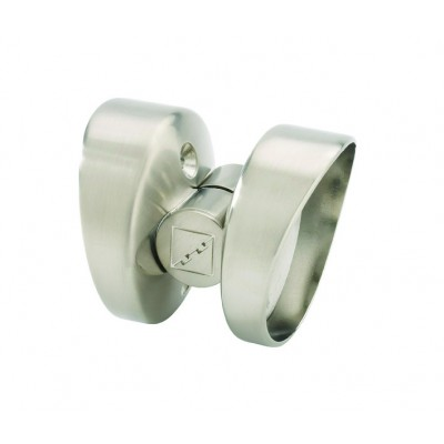 Richard Burbidge CTB Fusion Commercial Brushed Nickel Transition Connector
