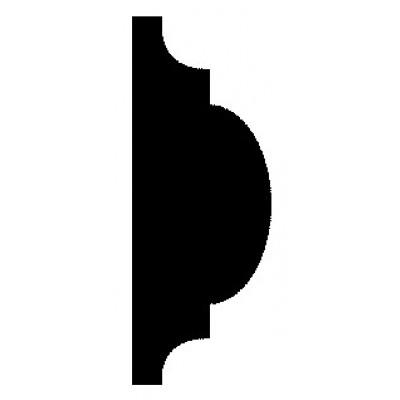Richard Burbidge DEC6035 - 10 PINE DBL ASTRAGAL 20 44 2400 [PK 10]