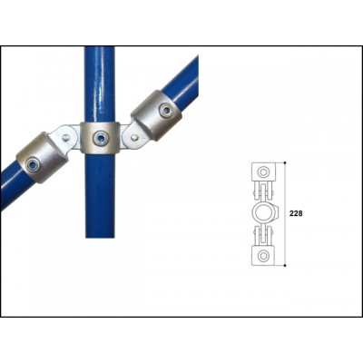 Interclamp 167-C42 - Double Swivel Connection