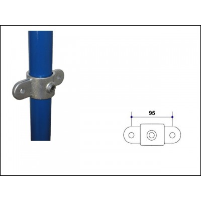 Interclamp 167M-E60 - Double Swivel Male Part