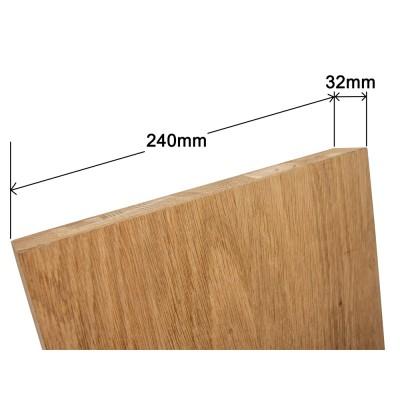 Staircase String - Veneered Oak