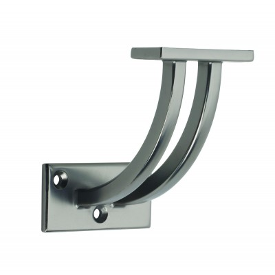 Richard Burbidge GMCWB Handrail Contemporary Wall Bracket - Gun Metal