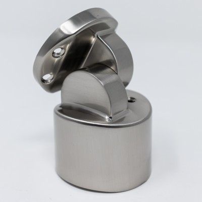 MOPSTICK 54MM HANDRAIL CONNECTOR - BRUSHED NICKEL