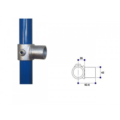 Interclamp 147-B34 - Internal Swivel Tee