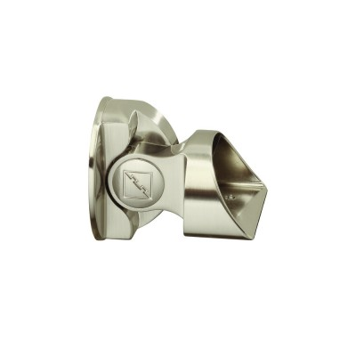 Richard Burbidge MMSBCB Fusion Brushed nickel suspended baserail connector - MMSBCB