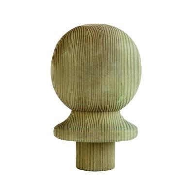 Richard Burbidge LD203 Treated Softwood Ball Newel Cap