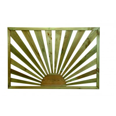 Richard Burbidge LD211 Traditional Outdoor Sunburst Timber Panel