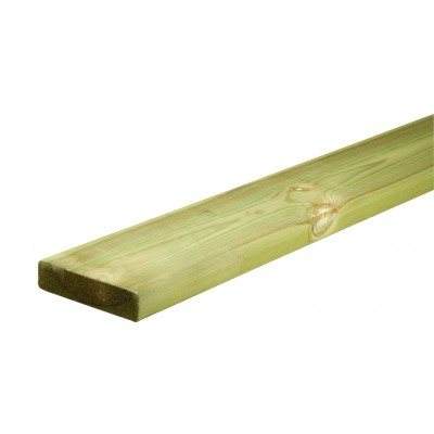 Richard Burbidge LD220 Outdoor Naturewood Flat Capping Rail 2400mm
