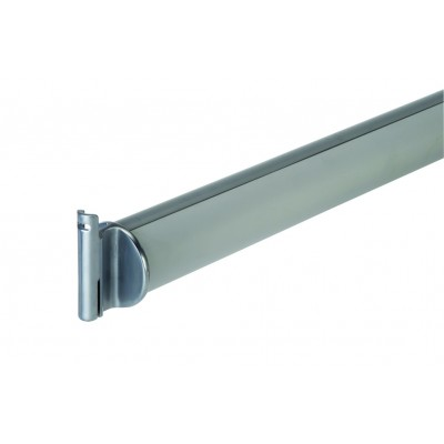 Richard Burbidge LD500 Contemporary Fusion Outdoor Aluminium Support Handrail with Brackets 1800mm