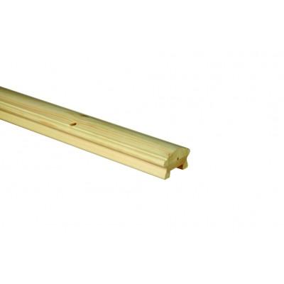 Richard Burbidge LHR2400/41P Hallmark Pine Handrail for 41mm Spindles 2.4m