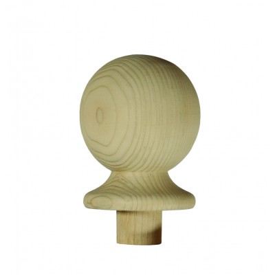 Richard Burbidge NC2/90 Trademark Hemlock Ball Newel Cap 90mm