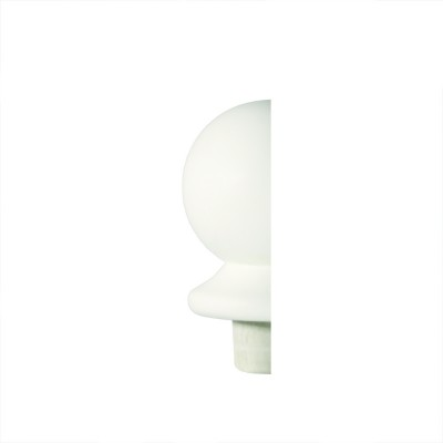 Richard Burbidge NC2/90WHALF Trademark Primed Newel Cap Ball Half 90mm