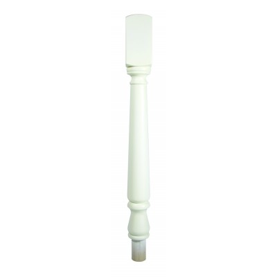 Richard Burbidge NT160/90W Trademark Primed Tulip Newel Turning 725mm