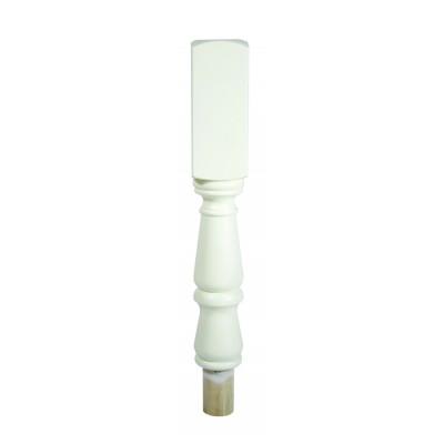 Richard Burbidge NT202/90W Trademark Primed Tulip Winder Newel Turning 90x497mm