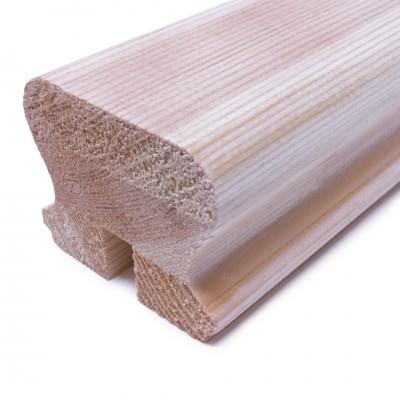 JWEB 57x69mm Slot 11mm x 20mm PHR Handrail Pine
