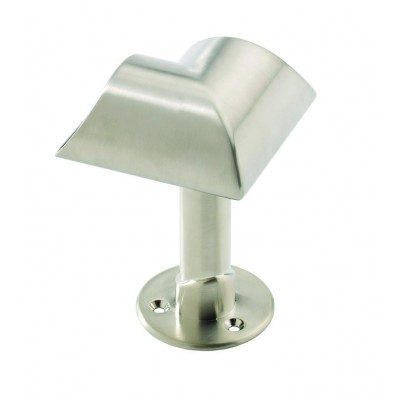 Richard Burbidge SCB Fusion Commercial Brushed Nickel Suspended Corner Connector