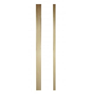 Richard Burbidge SCNP1500/90HALF Trademark Hemlock Complete Stop Chamfer Half Newel 43x1500mm
