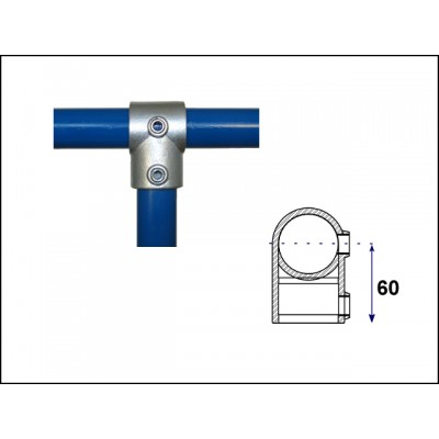 Interclamp 101-B34 - Short Tee