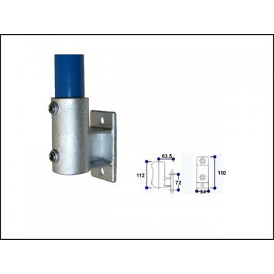 Interclamp 144-D48 - Side Support (Vertical Base)