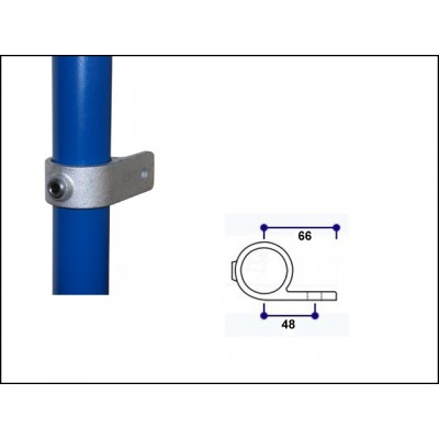Interclamp 199-B34 - Single-Lugged Bracket