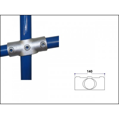Interclamp 156-D48 - Slope Cross (Middle Rail) (0 - 11 degree)