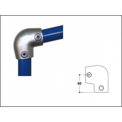 Interclamp 154-D48 - Slope Elbow (0 - 11 degree)