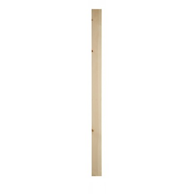 Richard Burbidge SQN1500/90 Trademark Hemlock Complete Plain Newel 90x1500mm