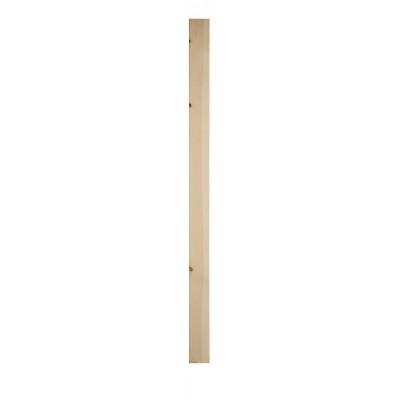 Richard Burbidge SQN1500/90P Trademark Pine Complete Plain Newel 90x1500mm