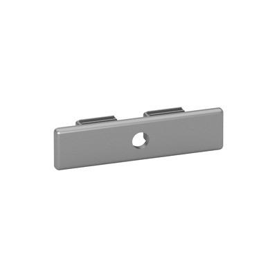 Q-Railing - End cap, Easy Hit, for post profile Easy Alu,plastic, aluminium RAL 9006 [PK2]- [24573206036]