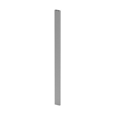 Q-Railing - Post profile, Easy Alu, 60x15 mm,H=965 mm, brushed aluminium, anodized 25 micrometre