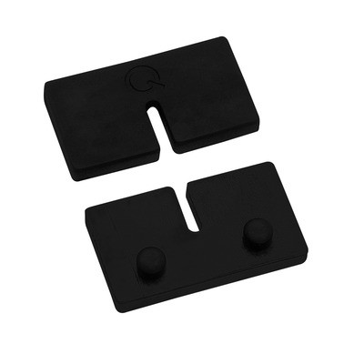 Q-Railing - Rubber inlay for glass clamp MOD 21, for 10 mm glass thickness [PK8]- [19500201000]