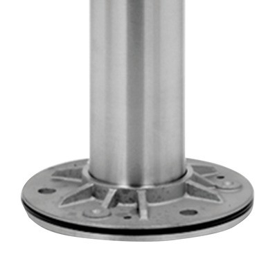 Q-Railing - Baluster post, MOD 0912, Dia 42.4 mm x 2 mm, H=989 mm, stainless steel 316 exterior, satin - [14091224212]