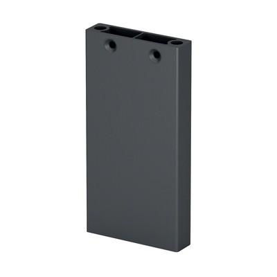 Q-Railing - Post profile, Easy Alu, 60x15 mm,H=1065 mm, aluminium, anthracite grey RAL 7016 - [16056010733]