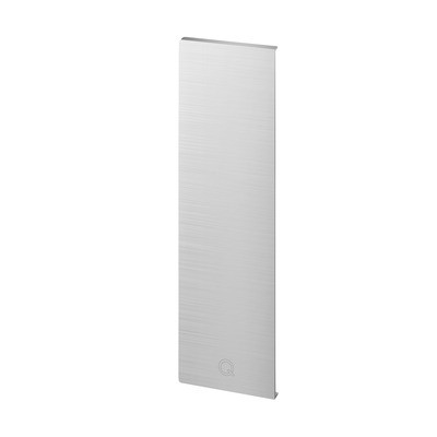 Q-Railing - End cap, Easy Glass Pro Y, fascia mount, right, aluminium, stainless steel effect, anodized - [16673501618]